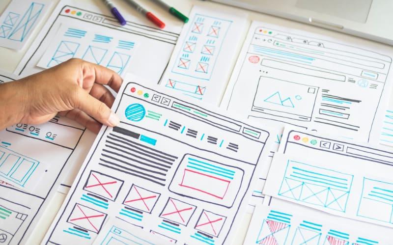 Strony Internetowe  - Tworzenie makiet prototypów stron www - Two Colours
